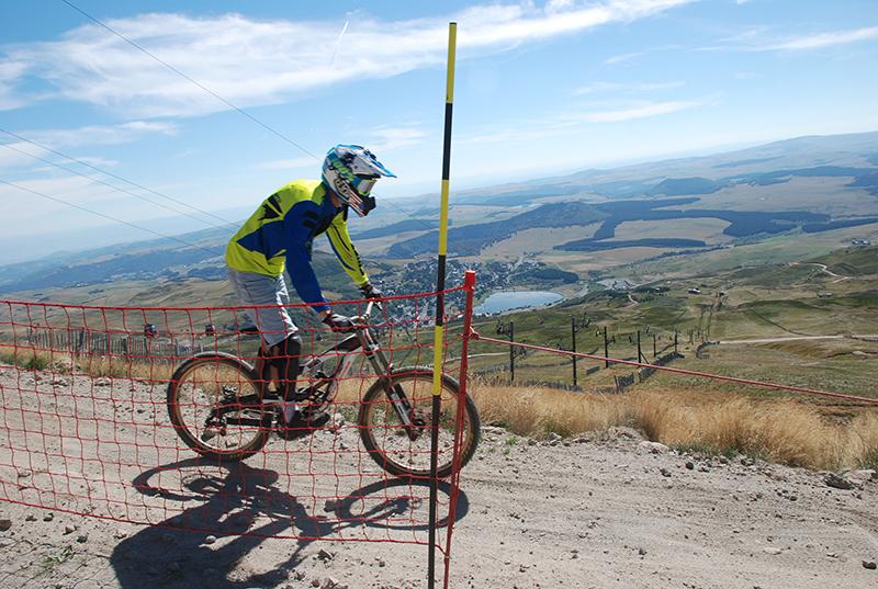 Super Besse en de downhill mountainbikeroute