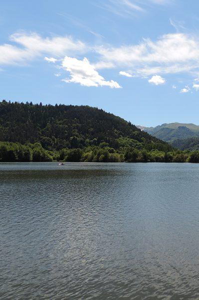 Wandelen Lac Chambon Puy-de-Dôme, Frankrijk!