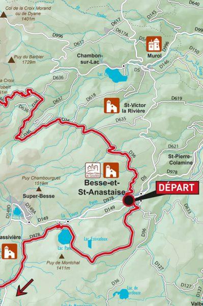 Fietsen in de Puy-de-Dôme, fietsroutes